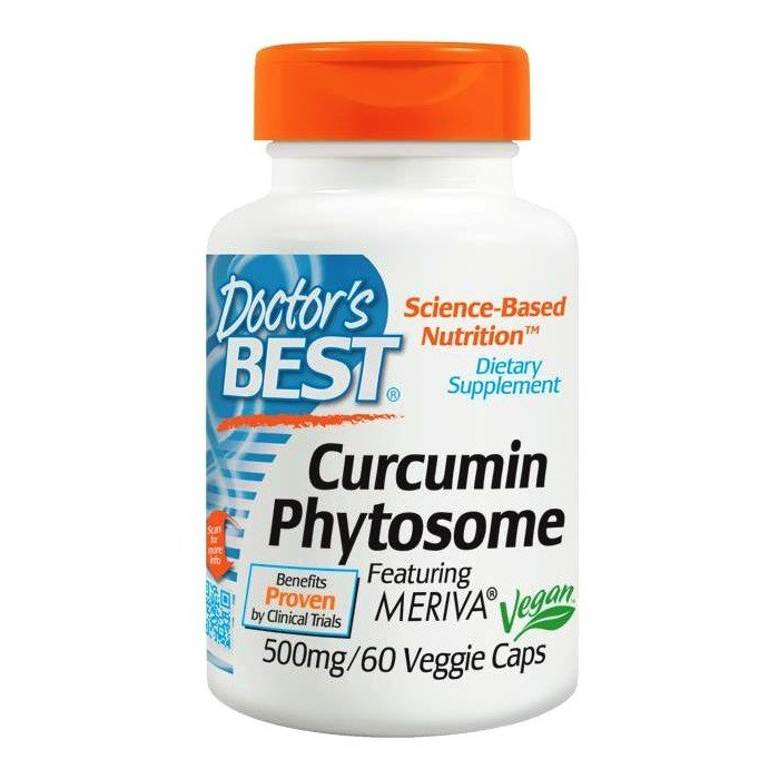 DOCTORS BEST CURCUMIN PHYTOSOME 500mg 60 caps